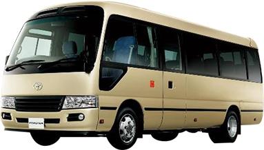 バスの1日レンタルが28,000円~